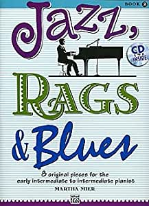 Jazz Rags + Blues 2 – Arreglados para Piano – con CD [de