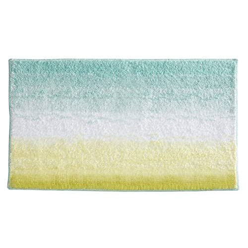 Ultra Soft High Pile Plush Bath Mat Rug 21in X 34in Non: Mint Green Rug: Amazon.com