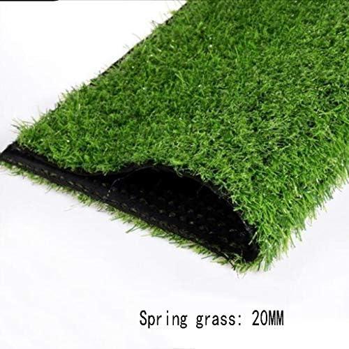 XEWNEG 高さ20mm、合成緑の芝生、暗号化されたグラスカーペット、防水、掃除が簡単、野外活動に適しています/結婚式の装飾 (Size : 2x7M)