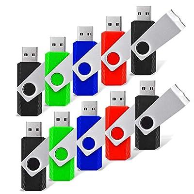 RAOYI USB Flash Drive Swivel Thumb Pen Drive Memory Stick Colorful Jump Drive from RAOYI