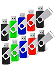 RAOYI USB Flash Drive Bulk Pack Thumb Pen Drive Memory Stick Jump Drive