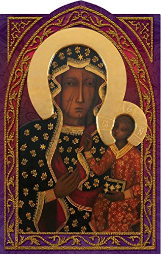 Our Lady of Czestochowa Holy Prayer Card