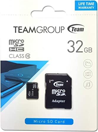 Amazon.com: Team 32GB Micro SDHC - Class 10 - SD 2.0/3.0