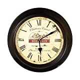 Joveco Vintage Bordeaux Wall Clock. Bordeaux Modest Circular Wall Clock. Review