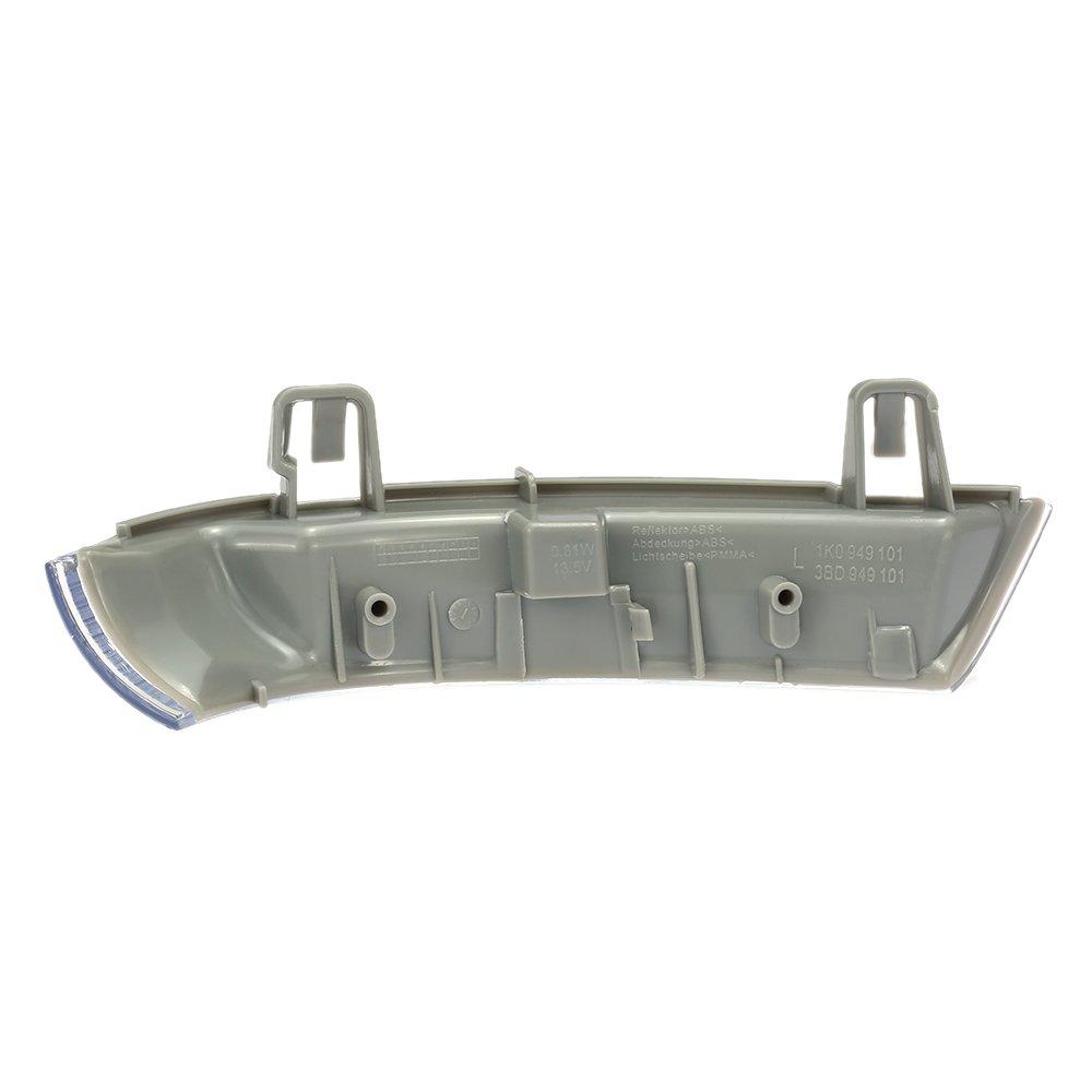 KKmoon Car Indicator Turn Signal Lens with LED Bulbs Left Side