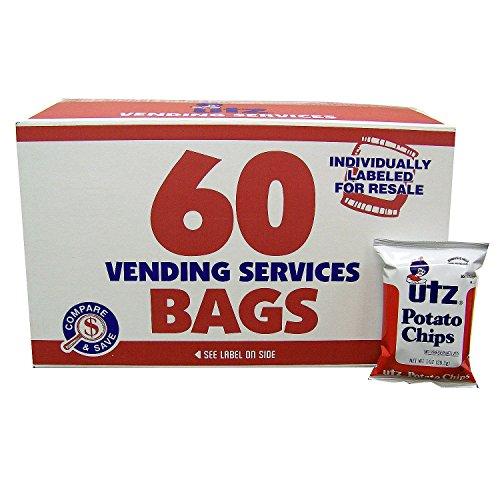 Utz Potato Chips - Utz Regular Potato Chips - 60 CT