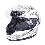 XFMT Motorcycle Full Face Helmet DOT Approved Flip Up Full Face Adult Helmet Butterfly Dirt Bike ATV