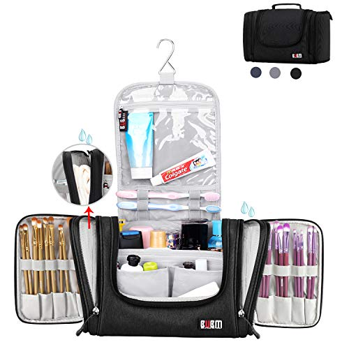 BUBM Large Hanging Toiletry Bag Heavy Duty