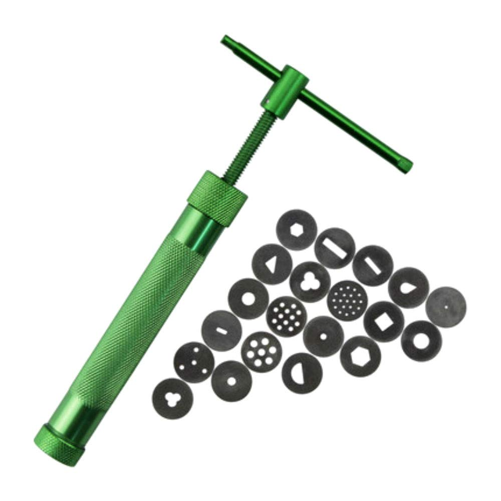 Miniature Alloy Rotary Clay Extruder-Multifunctional Durable held Polymer Clay Tools