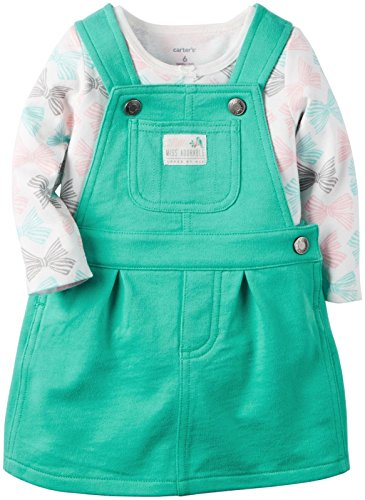 Carter's Baby Girls' 2 Piece Jumper Set (Baby) - Teal - 18 Months