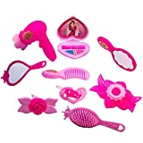 TukTek Kids First 10 Piece Pink Brush Hair Clip Comb Dryer &...