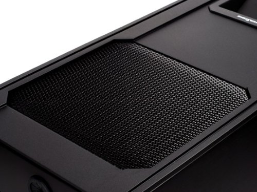 Silverstone Tek Fortress Aluminum ATX Mid Tower Uni-Body Computer Case with Window Side Panel and 2X USB3.0 Front Ports Cases FT01B-W-USB3.0