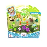 Jungle In My Pocket Best Deals - Jungle In My Pocket 15 Piece Playset Style 1