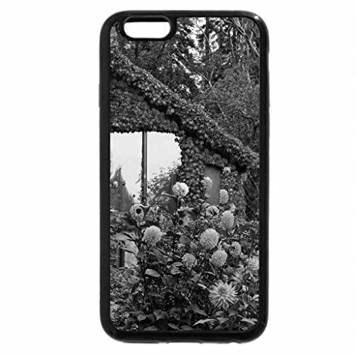 iPhone 6S Case, iPhone 6 Case (Black & White) - House of Flowers