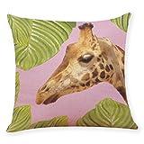 Pillow Cases,Lavany Pillow Covers Leaf Tree Pillowcases Cushion Home Car Sofa Decorative (E)
