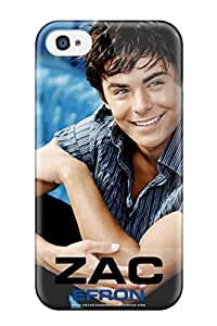 Hard Plastic Iphone 4/4s Case Back Cover,hot Zac Efron Case At Perfect Diy