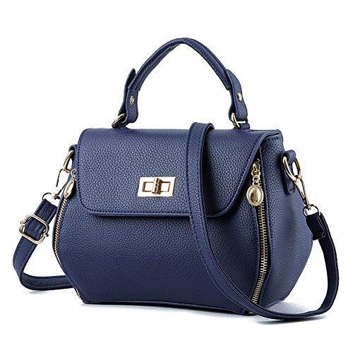 moda pelle in a tracolla Borse borse taglia messenger Yisaesa tracolla donna Borsa per a con tracolla donna a tracolla a vera tracolla colore vqavwS7