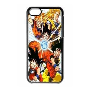 iPhone 5c Cell Phone Case Black Goku Metamorphosis F3S1PP