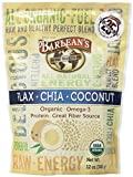 Barlean's Flax-Chia-Coconut Blend - Pouch - 12 Ounce (Pack of 2)