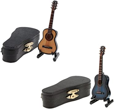 Amazon.es: Sharplace 2 Pedazos Modelo Guitarra con Funda de ...