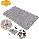 Indoor Doormat Front Door Mat - Non Slip Rubber Backing Super Absorbent Mud and Snow, Magic Dirts Trapper Door Mats, XL Inside Entrance Floor Doormats Machine Washable Rugs (20' x 32' Large Mat)