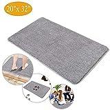 Indoor Super Absorbent Doormat, Magic Step Clean Mud Door Mat Non Slip Dirts