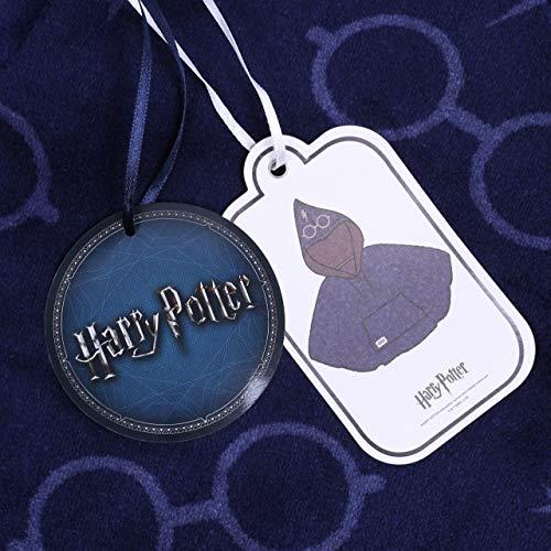 Blu Scuro Potter Poncho Blu Poncho Harry qfEwRx