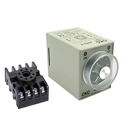 Woljay AH3-2 Time Delay Timer Relay Solid State AC 220V 8