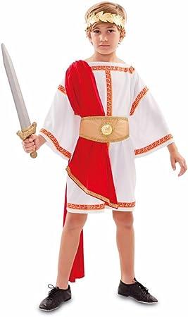 Fyasa 706485-t03 emperador romano disfraz, tamaño mediano: Amazon ...
