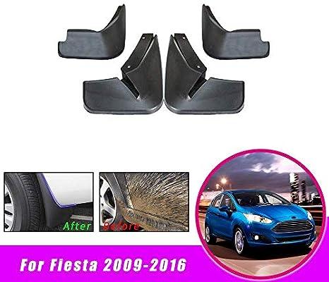 4Pcs Mud Flaps Splash Guards Fender Mudguard For Ford Fiesta 2009-2016 MK7