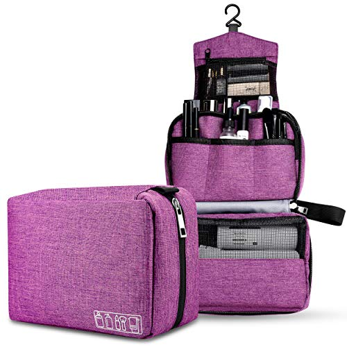 Ceephouge Hanging Travle Toiletry Bag, Compact Bathroom