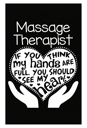 Carpin' the Diems Massage Therapist Gift Full Hands Heart Clothing Gifts - Poster