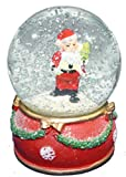Tii Collections 3.5 inch Resin Base Santa SnowGlobe (Style 2)