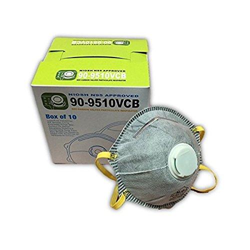 Carbon Filter Masks N95 with Exhalation Valve