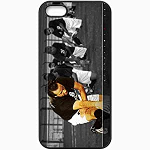 Personalized iPhone 5 5S Cell phone Case/Cover Skin Ali Karimi Football Black