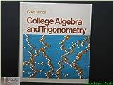 College Algebra and Trigonometry, Vancil, Chris, 0024224006