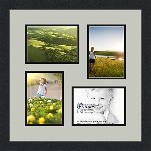 collage photo frame double mat