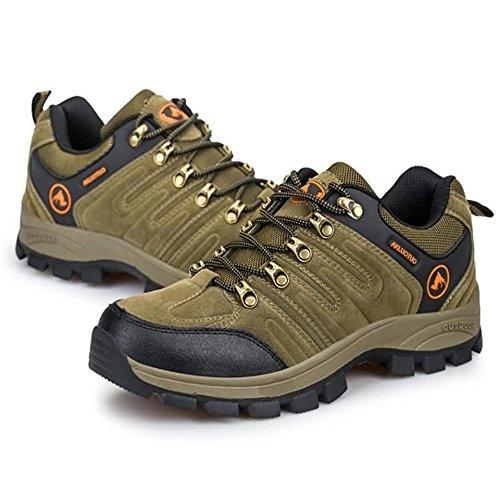Deportivos Exteriores tamaño 45 Zapatos Espuma con con de Afterburn Hombres Zapatos Cordones atléticos Forma para Color Memoria EU para Marrón en xqnwnSU0