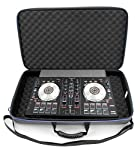 CASEMATIX DJ Controller Case For Pioneer DJ DDJ-SB3 DJ Controller, Power Cable and Small Accessories from CASEMATIX