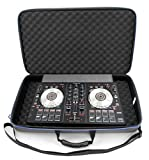CASEMATIX DJ Controller Case For Pioneer DJ DDJ-SB3 DJ Controller, Power Cable and Small Accessories