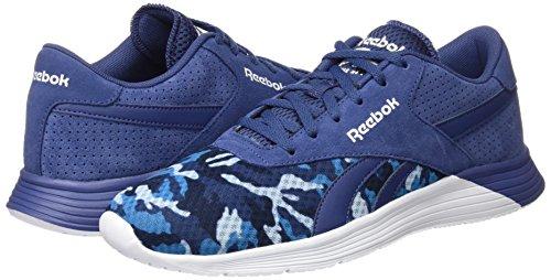 Ride Blanc Blanc Chaussures De Pour Bleu Bleu Nuit Pied Ec Gfx Course Royal Reebok Marine Homme bleu SxaEqwPC
