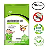 Aliza Naturals Mosquito Repellent Patch - 30 Count, Keeps Insects and Bugs Far Away, Convenient For Travel, Outdoor and Camping