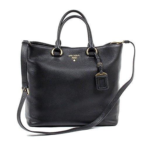 Prada Womens Handbag 1BG865 2E8K F0002 NERO VITELLO PHENIX