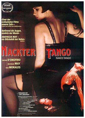 Póster De Película Desnuda Tango Alemán 11 X 17 28 Cm X 44 Cm