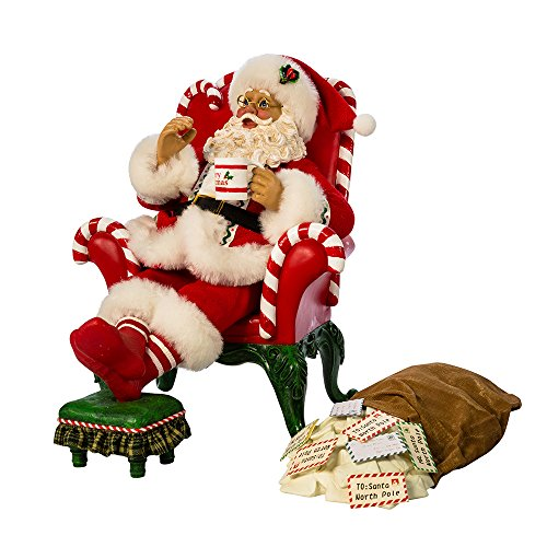 Figurine Santa Musical Wind Up - Kurt S. Adler 10