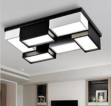 WINZSC Iluminación de Oficina Moderna Lámparas de Techo LED ...