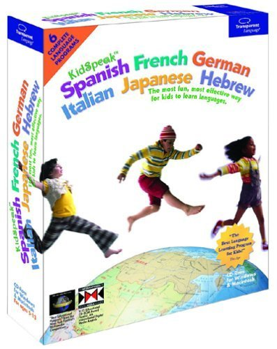 KidSpeak 6-in-1 World Pack: Spanish, French, German, Italian, Japanese, Hebrew [Old (Transparent Language French Dictionary)