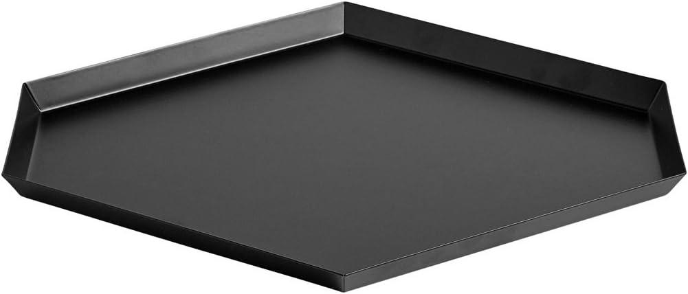 HAY 503952 Bandeja, acero, Color negro con revestimiento de polvo ...