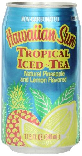 Plantation Iced Tea (Hawaiian Sun Iced Tea, Tropical, 11.5-Ounce (Pack of 24))