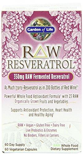 Garden Life Resveratrol vcaps Pack